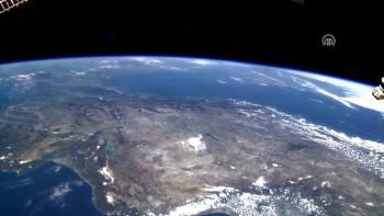 NASA astronotunun kamerasından Türkiye