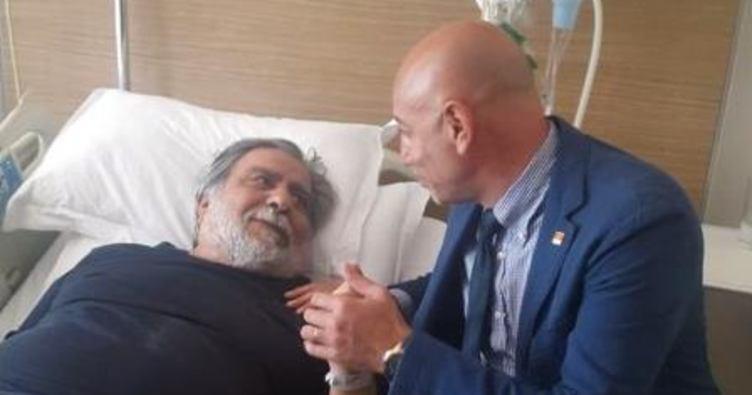 Arif Sağ beyin ameliyatı geçirdi