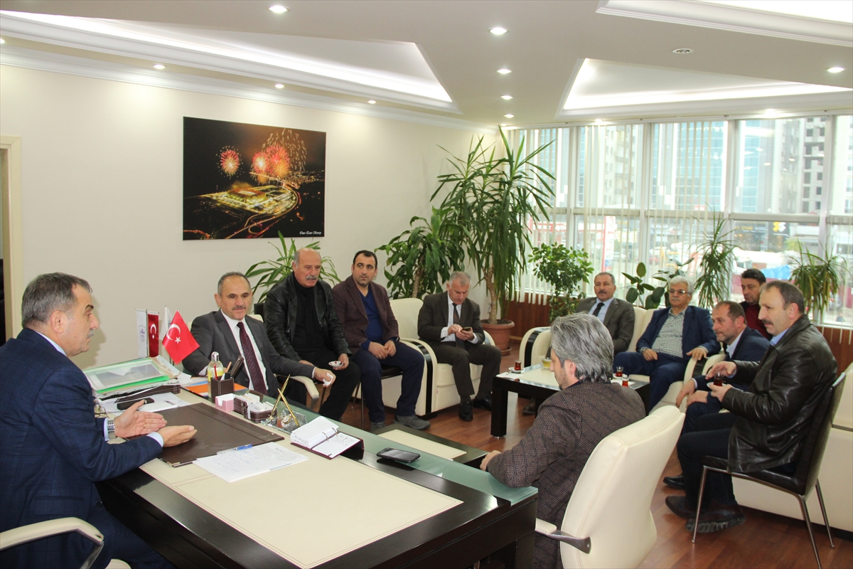 AK Parti heyetinin Yomra Belediyesini ziyareti
