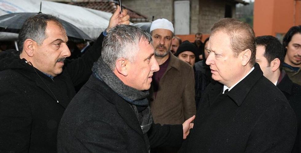Of Belediye Başkanı Sarıalioğlu'nun acı günü