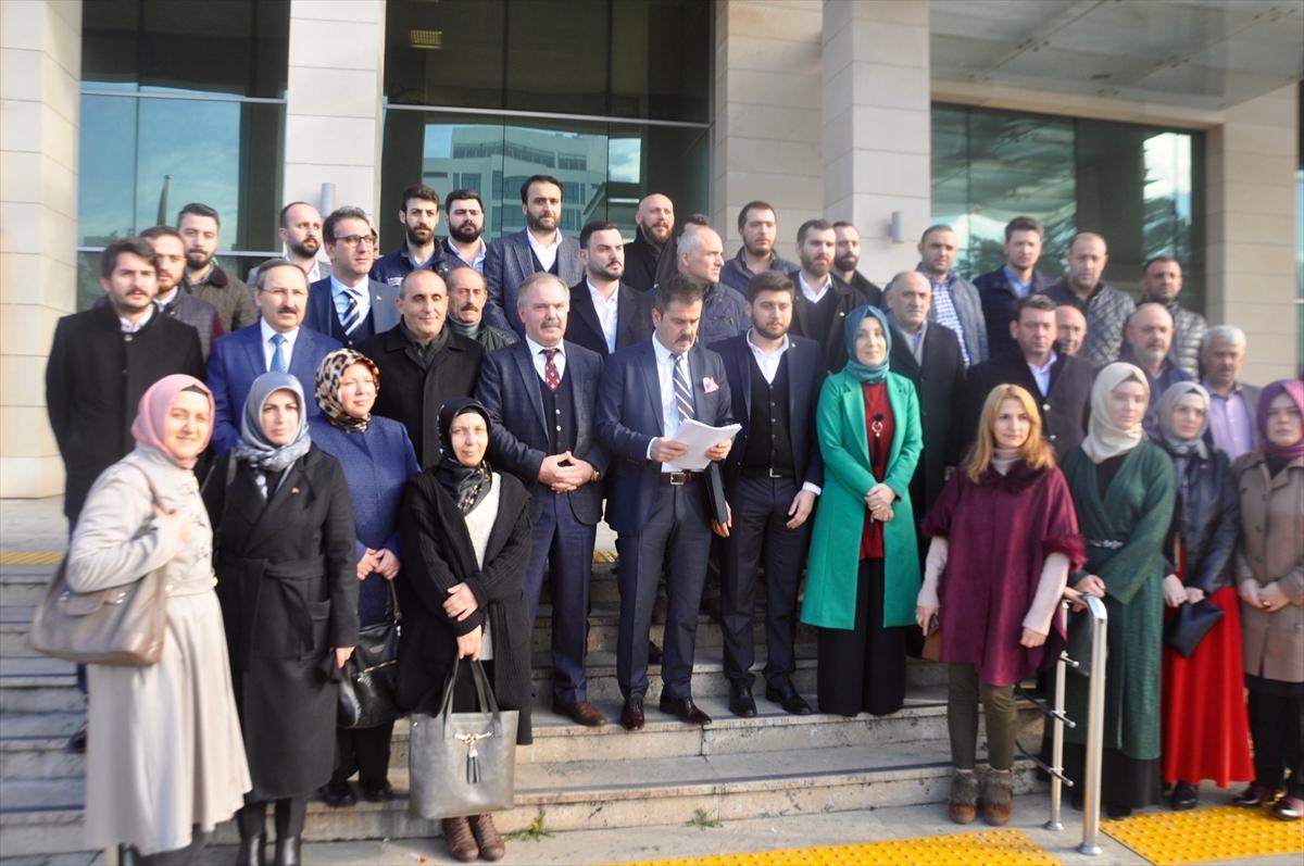Trabzon'da CHP Genel Başkanı Kılıçdaroğlu hakkında suç duyurusu