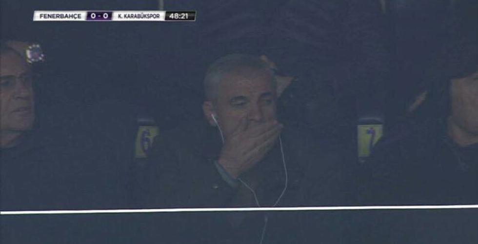 Çalımbay, Fenerbahçe Karabükspor maçını izledi