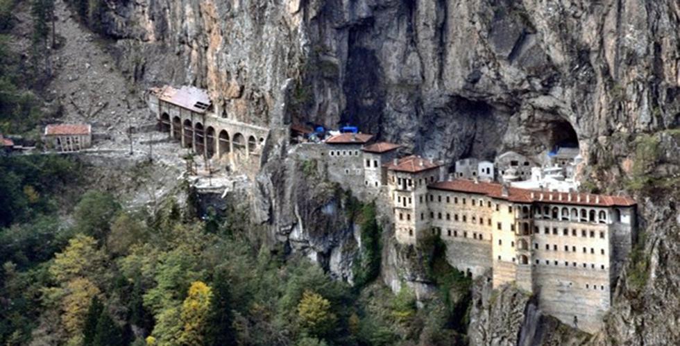 Sümela Manastırı'nda yeni keşif