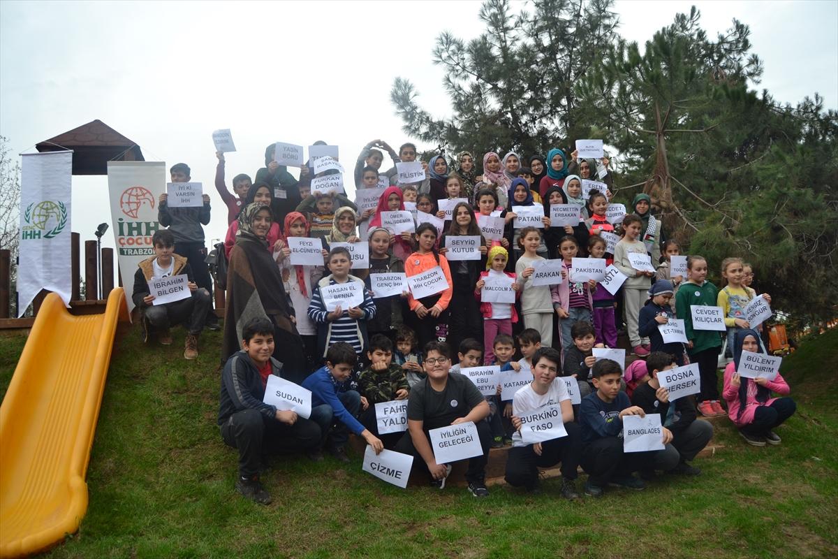 Trabzon'da İHH Çocuk Kulübü, oryantiring etkinliği düzenledi