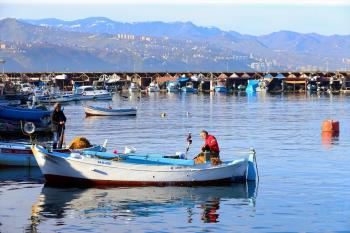 Trabzon'da güneşli hava