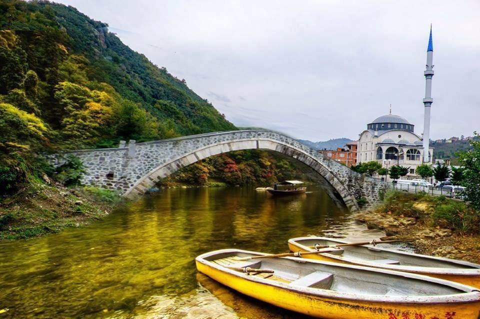 Arsin'de ki Tarihi Köprü Yeniden Yapılıyor