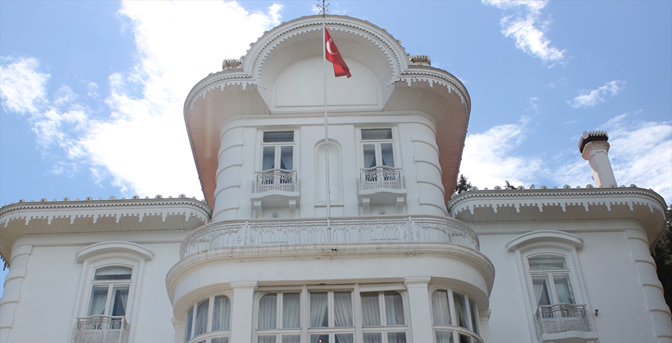 Trabzon'daki Atatürk Köşkü'ne büyük ilgi