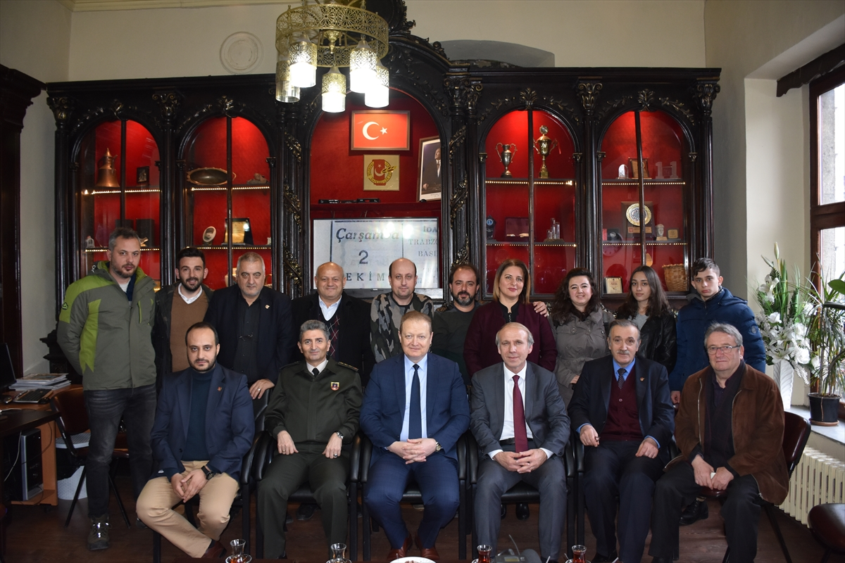 Vali Yavuz, Trabzon Gazeteciler Cemiyetini ziyaret etti