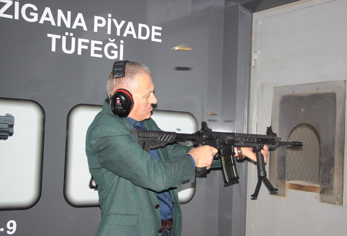 """Milli piyade tüfeği """"Zigana"""" Arsin'de üretilecek"""