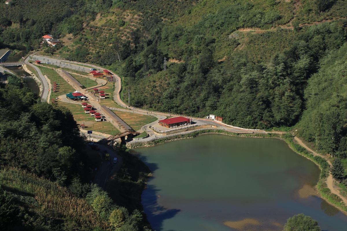 Sera Gölü'nde yürüyüş yolunun birinci etabı tamamlandı