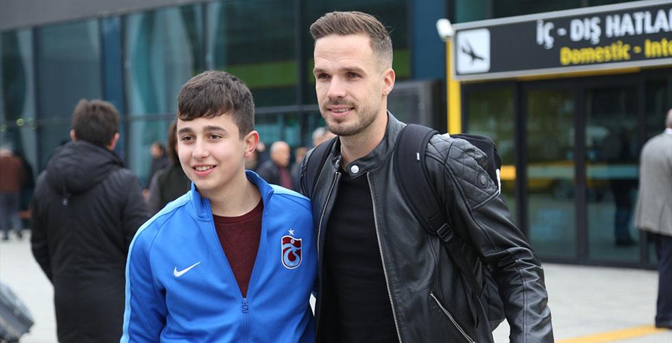 Novak, Trabzonspor için geldi