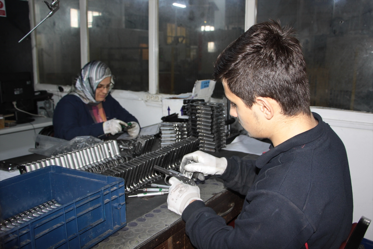 Trabzon'dan 17 ülkeye tabanca ihracatı