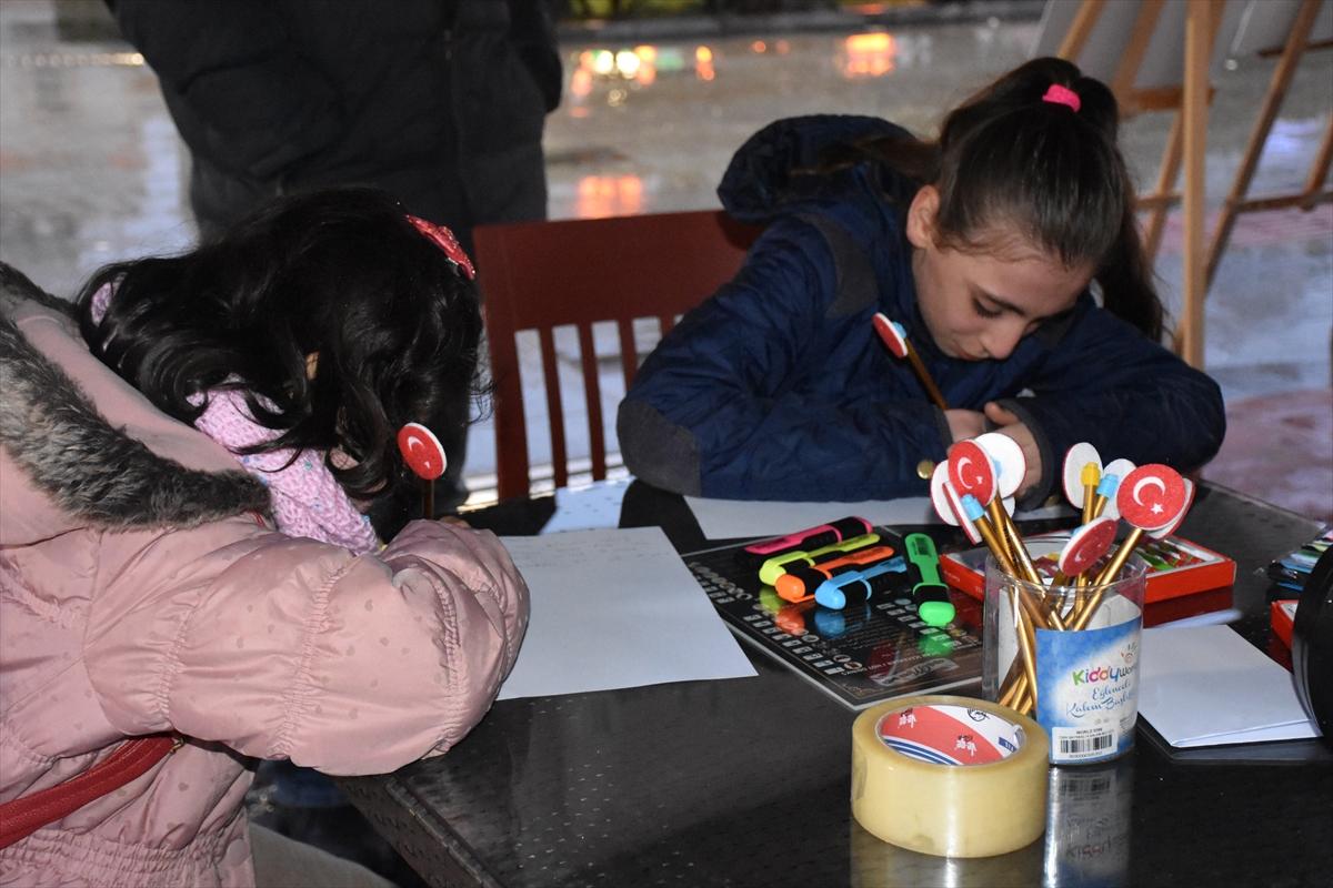 Trabzonlu öğrencilerden Zeytin Dalı Harekatı'na destek