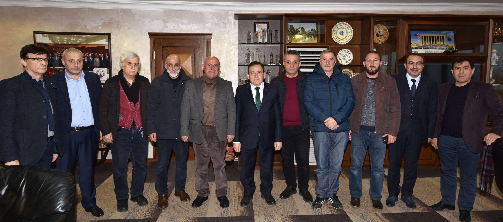 """""""Avrasya Pazarı Trabzon'un ticaretini hareketlendiriyor"""""""