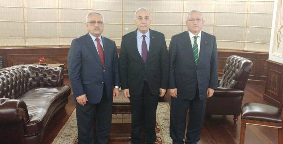 Başkan Keskin Esnaf için Ankara'da