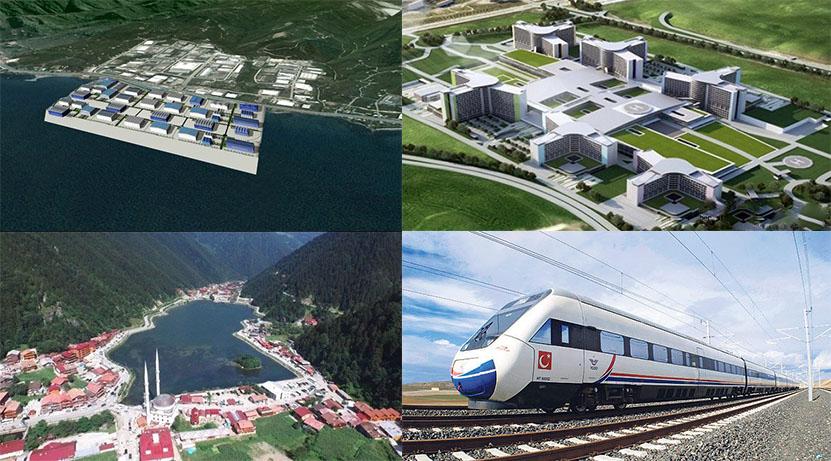 Trabzon'un mega projelerine 2018'de ilk kazma vurulacak
