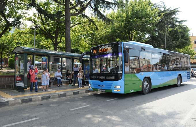 Trabzon Belediyesi 1 yılda 13 milyon yolcu taşıdı