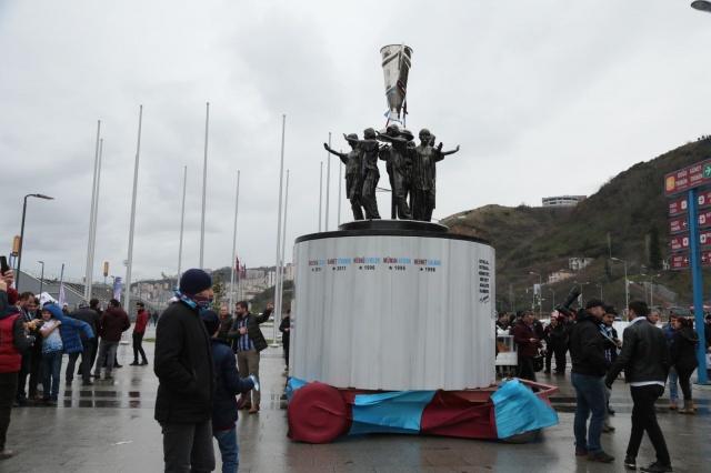 Trabzon'da 3 Temmuz Şike Anıtı tanıtıldı