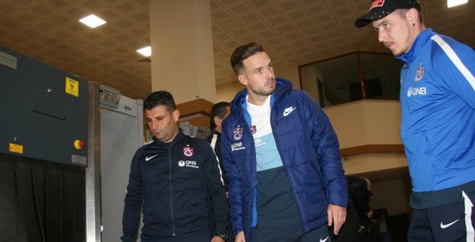 Trabzonspor, Konya'ya gitti