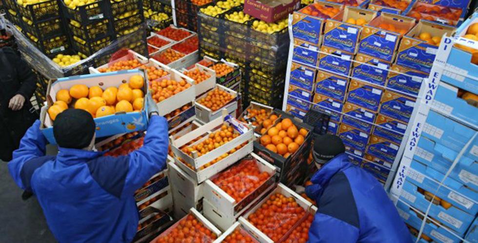 Rusya'ya en çok yaş meyve sebze Trabzon'dan ihraç edildi