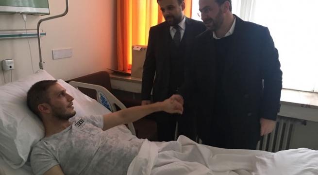 Cumhurbaşkanı Erdoğan Trabzonlu Gaziyi Unutmadı