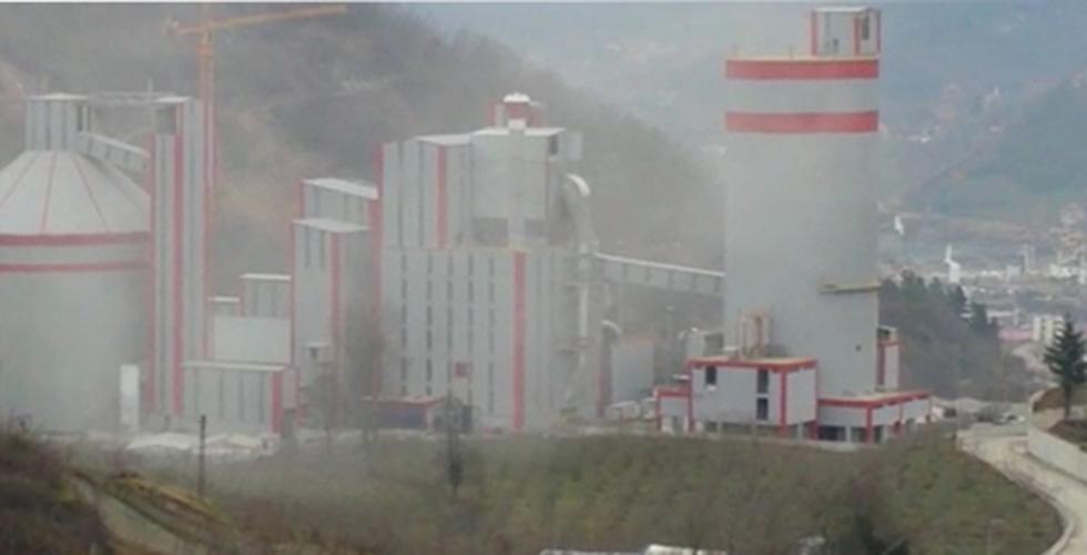Çimentonun tozu Trabzon'un kabusu