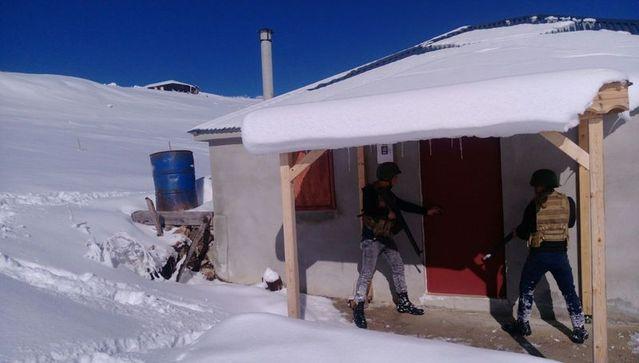 Trabzon Maçka'da terör örgütü PKK'ya operasyon