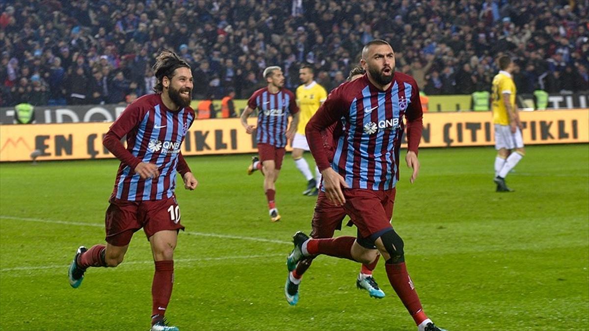 Trabzonspor'da Burak Yılmaz farkı