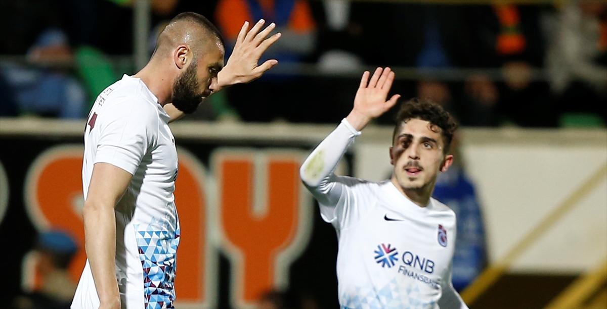 """Trabzonspor'un golleri """"yerli ve milli"""" futbolculardan"""