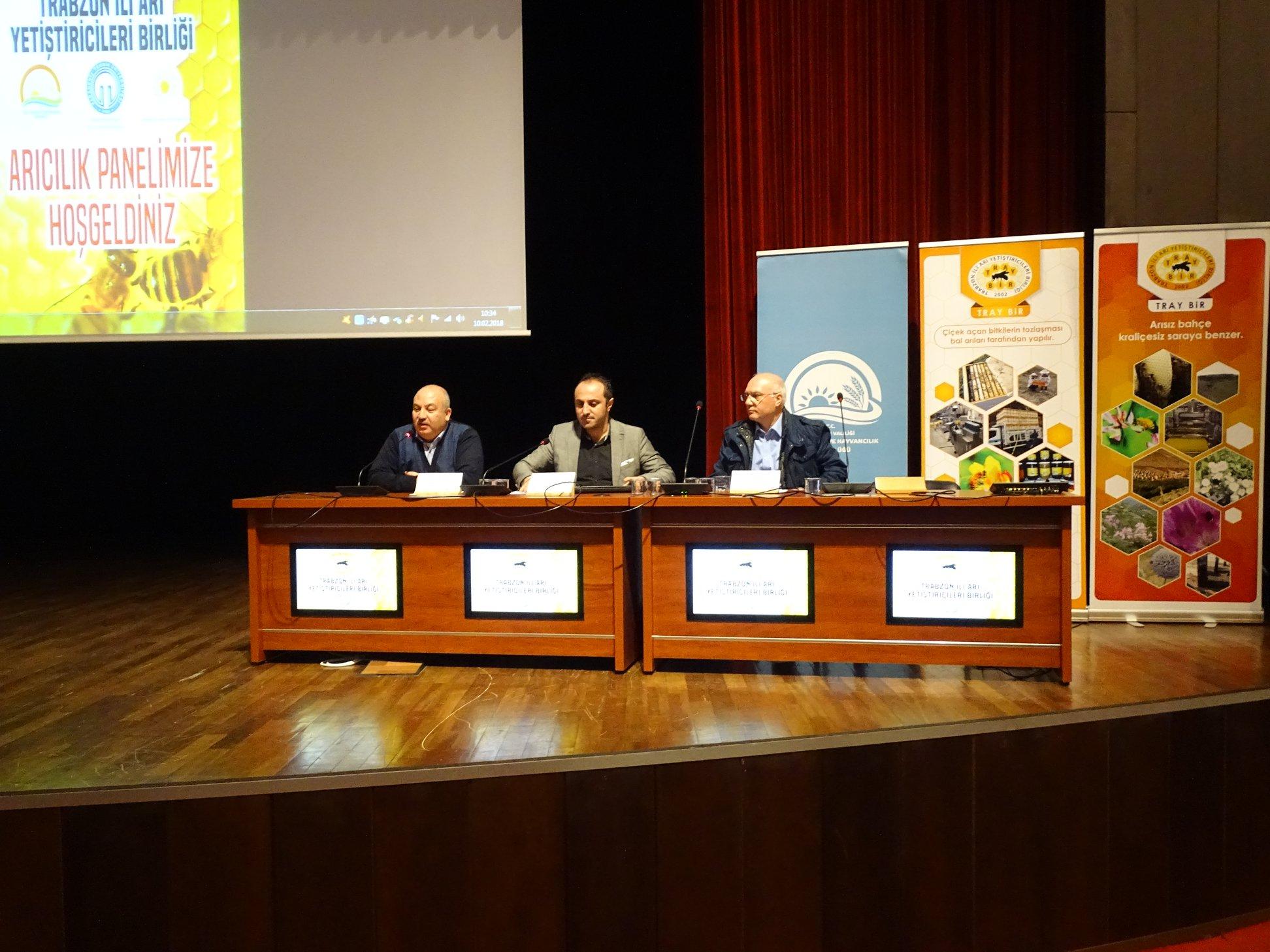 Trabzon'da Arıcılık Paneli Yapıldı