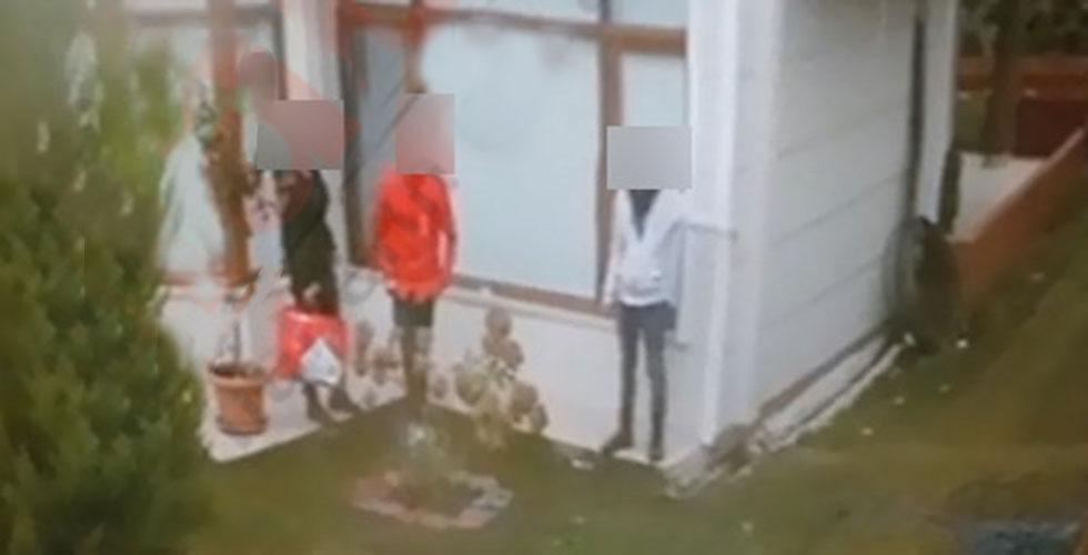 Arsin'de güpe gündüz hırsızlık