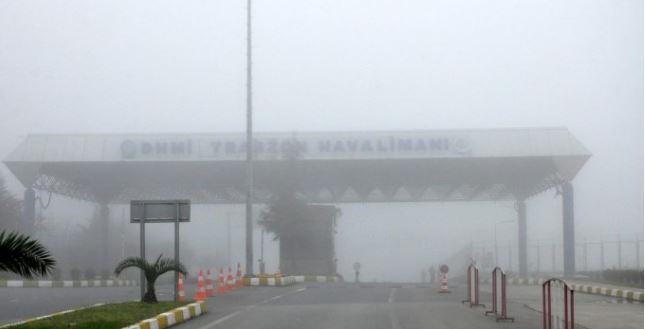 Trabzon'da uçuşlar iptal!
