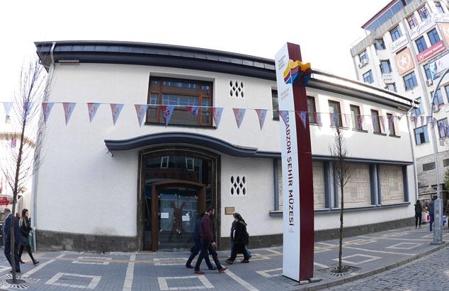 Trabzon'da müzeleri 15 bin kişi ziyaret etti