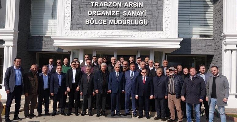 OSB' ler Arsin'de toplandı