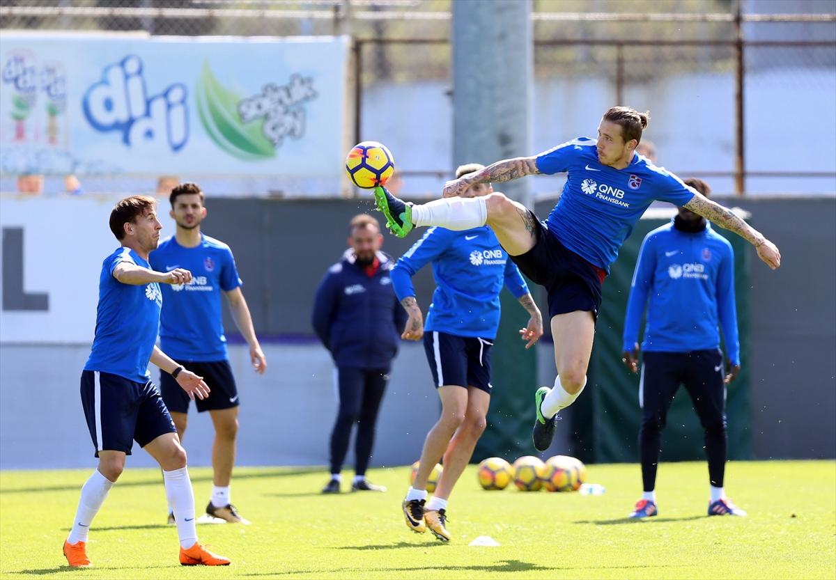 Trabzonspor'da Evkur Yeni Malatyaspor maçı hazırlıkları