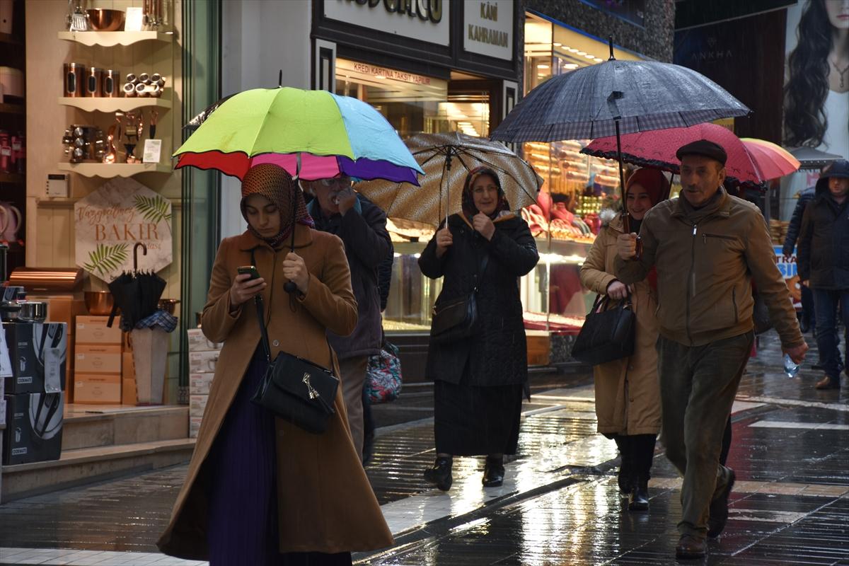 Trabzon'da yağmur