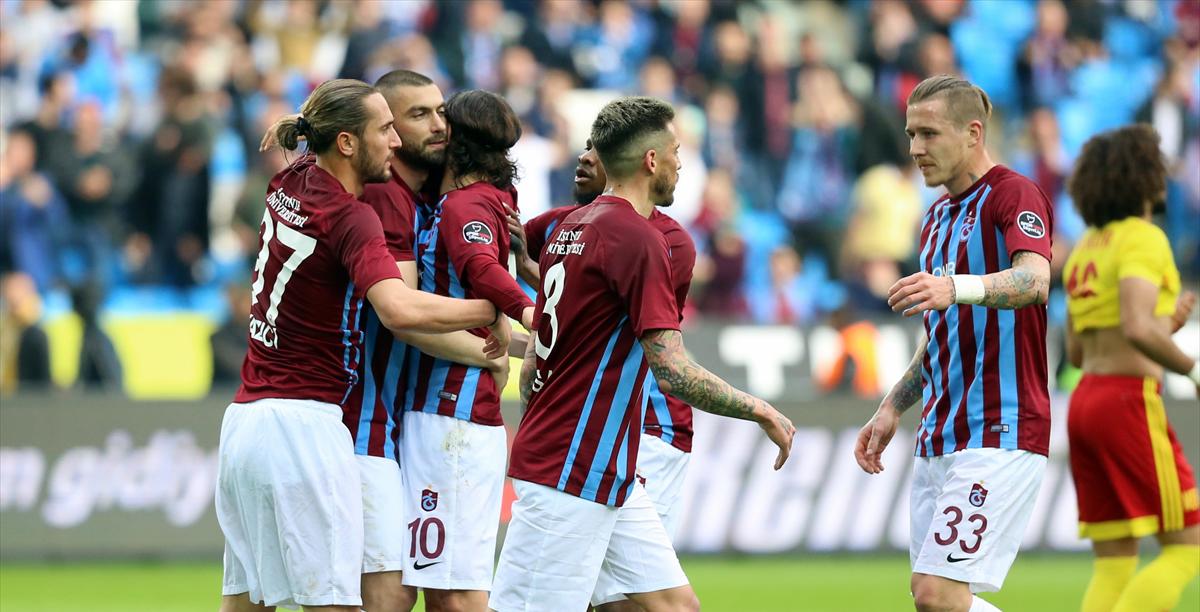 Trabzonspor'un Galatasaray karşısındaki golcüleri Yusuf ve N'Doye