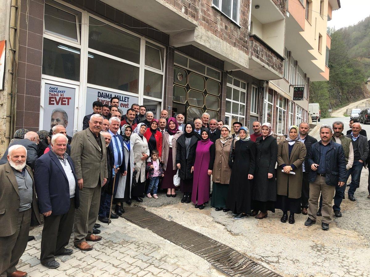 Trabzon Milletvekili Köseoğlu, Arsin ve diğer ilçeleri ziyaret etti