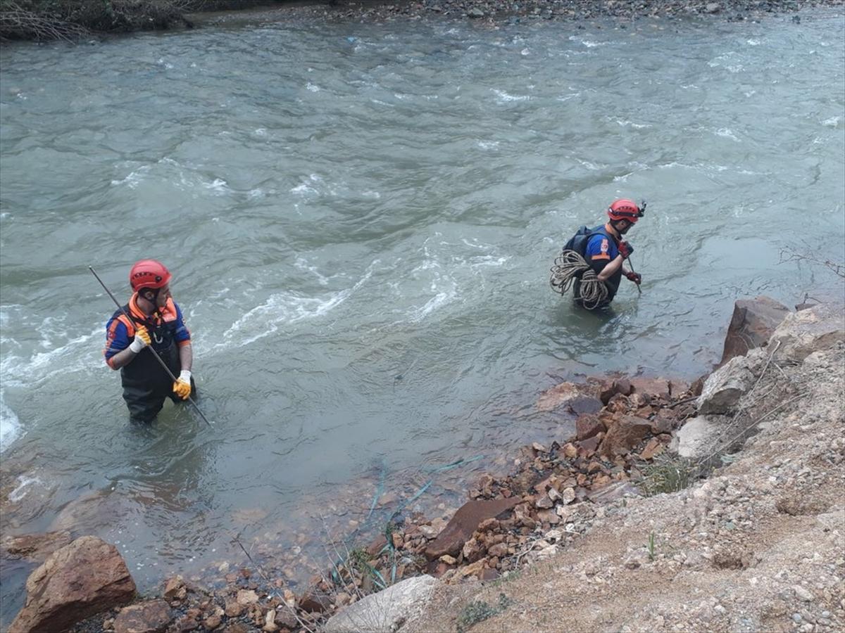 Kayıp polis memurunu arama çalışmaları 410 kişilik ekiple sürdürülüyor