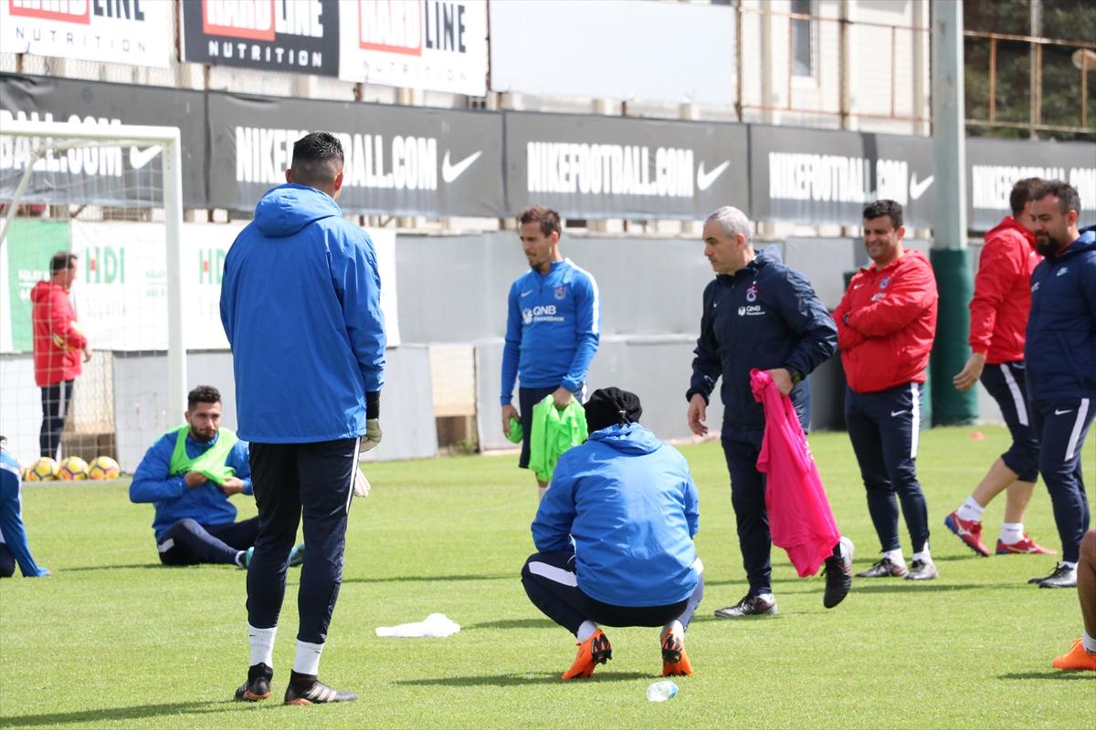 Trabzonspor'da Galatasaray maçı hazırlıkları