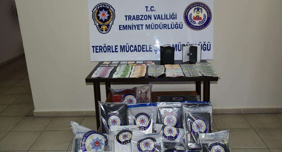 Trabzon'da,Hücre evinde kitap şeklinde gizli kasa yapmışlar