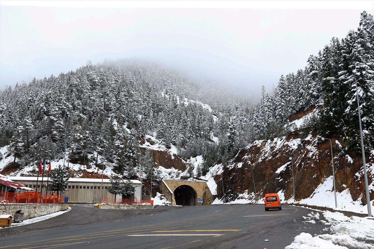 Zigana Dağı'nda kış