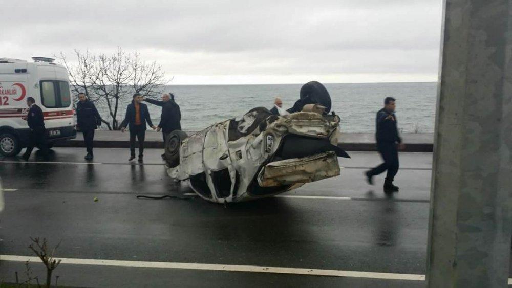Doğu Karadeniz'de en çok kaza Trabzon'da oldu