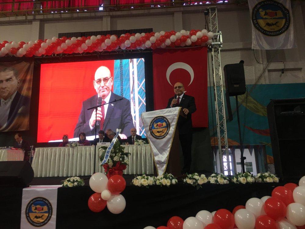 Trabzon Esnaf ve Sanatkârlar 64. Genel Kurulunu gerçekleştirdi
