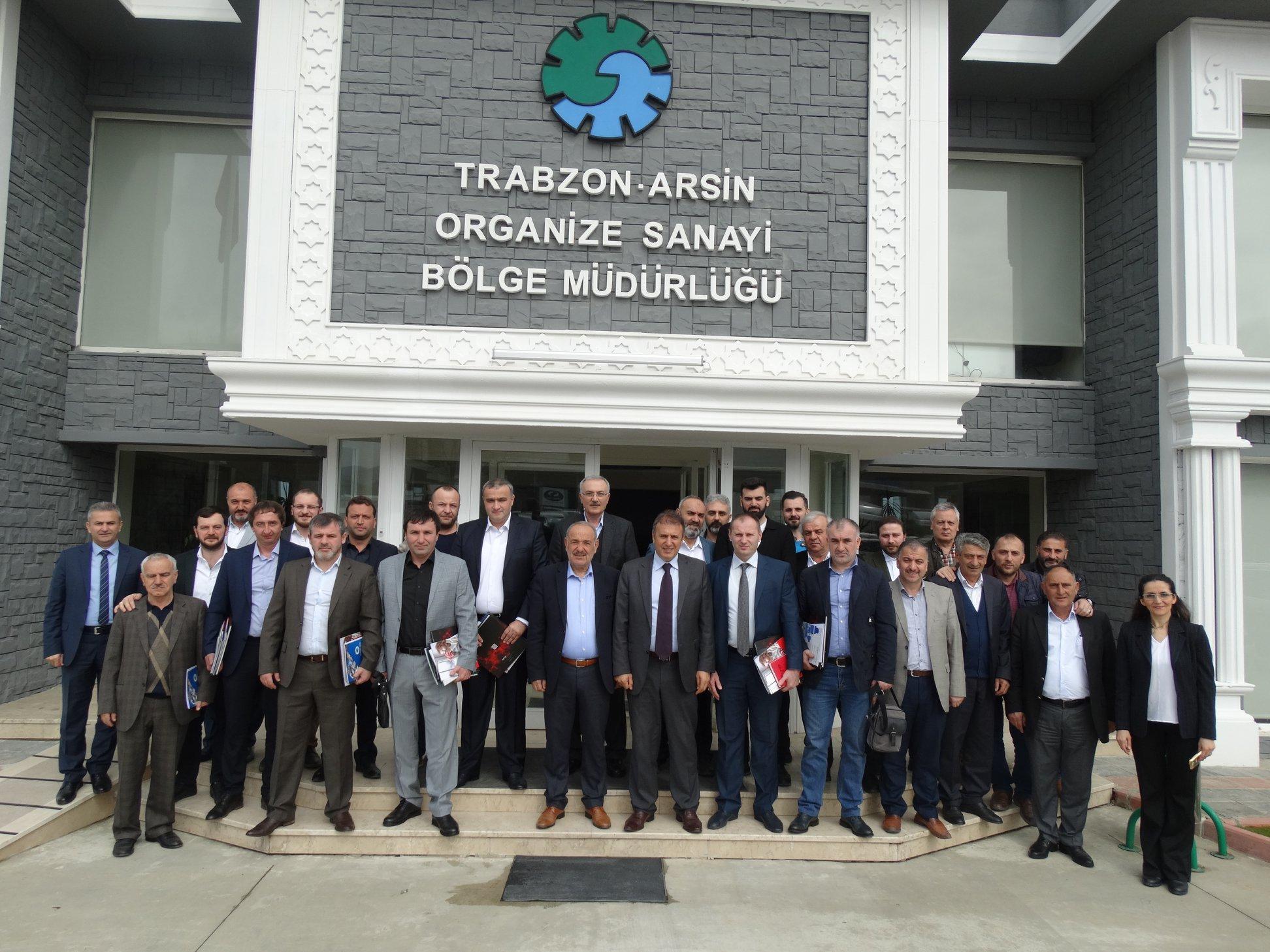 Karaçaylı İşadamları Birliği' nden Arsin OSB' ye Ziyaret