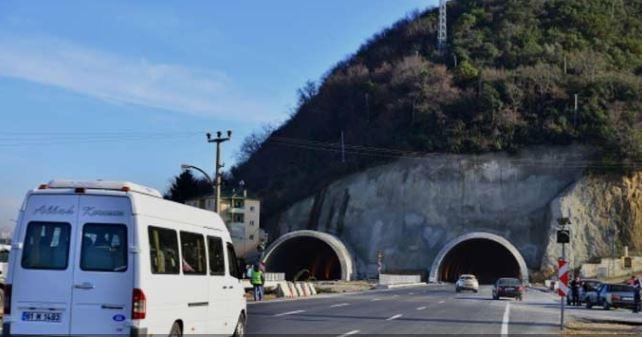 Akyazı Tünelinde çalışma: Karayolları uyardı