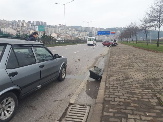 Trabzon'da kaza: 2 Yaralı
