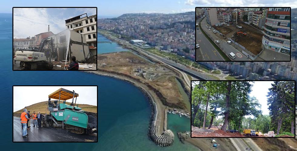 Trabzon'da projelerde son durum