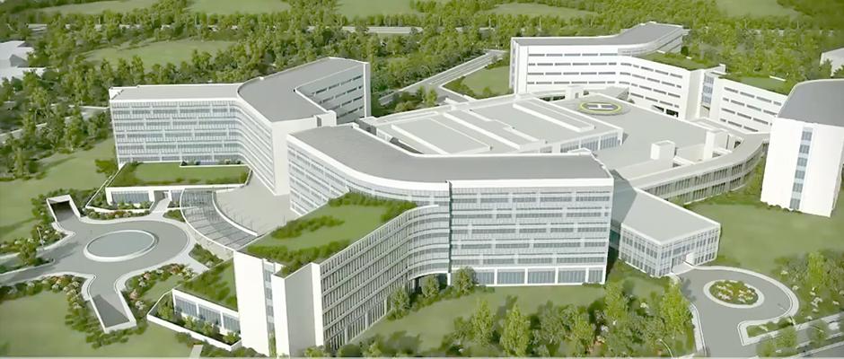 Trabzon Şehir Hastanesi başlıyor