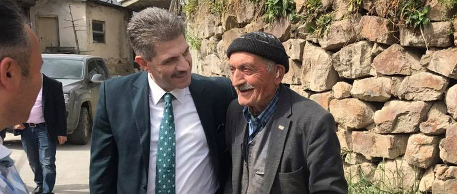 Arsin Belediye Başkanı Şen Vatandaşı Dinledi